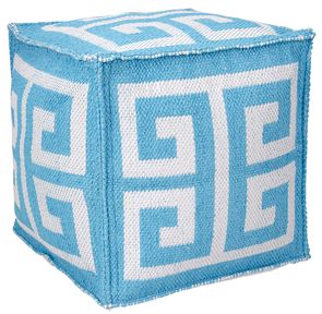 Greek Key Outdoor Pillow