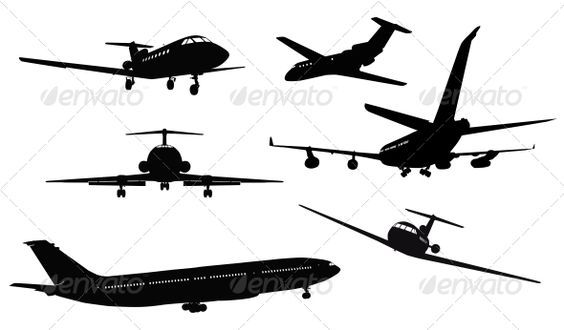 Aircraft Silhouettes  #GraphicRiver         Aircrafts vector detailed silhouettes set. Separate layers. eps8     Created: 6February13 GraphicsFilesIncluded: JPGImage #VectorEPS Layered: No MinimumAdobeCSVersion: CS Tags: aerial #aeroplane #air #airbus #aircraft #airline #airplane #aviation #background #big #business #cockpit #commercial #concept #cruise #film #flight #fly #frame #holiday #illustration #image #isolated #jet #large #liner #plane #ramp #silhouette #vector