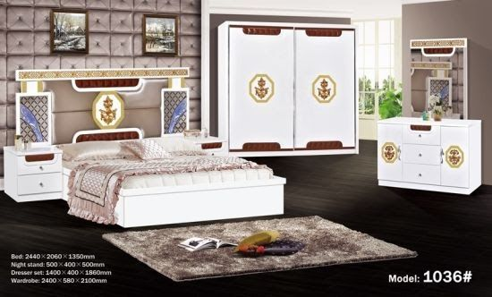 2018 Cheap Price Bedroom Sets White Series Hot Selling To Home