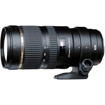 Tamron SP 70-200mm f/2.8 Di VC USD Zoom Lens for Nikon. Manufacturer rebate of $100!
