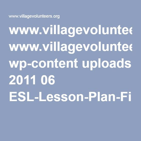 www.villagevolunteers.org wp-content uploads 2011 06 ESL-Lesson-Plan-First-Class.pdf