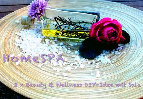 3 x Wellness- und Beauty DIY mit Salz Wellness Geschenk