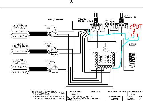 Steve Vai Wiring Diagram In 2021, Ibanez Rg 350 Wiring Diagram