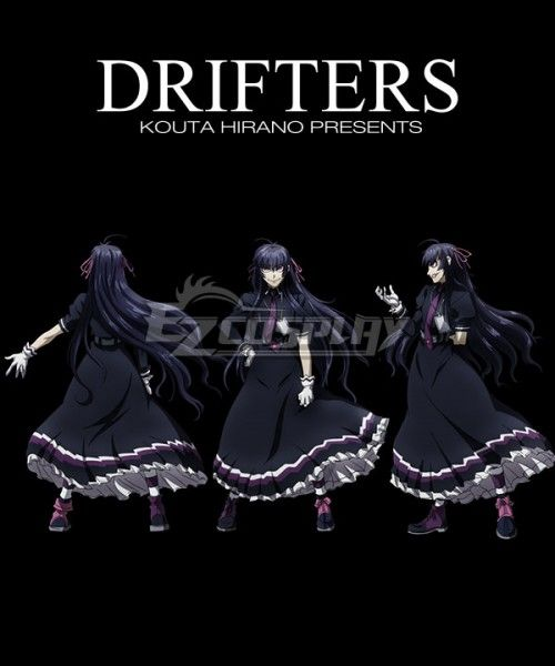 Drifters Easy Cosplay Costume Easy Drifters Costume