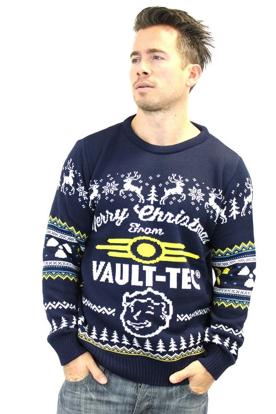 Fallout 4 Ugly Christmas Sweater. Video Game Ugly Christmas ...