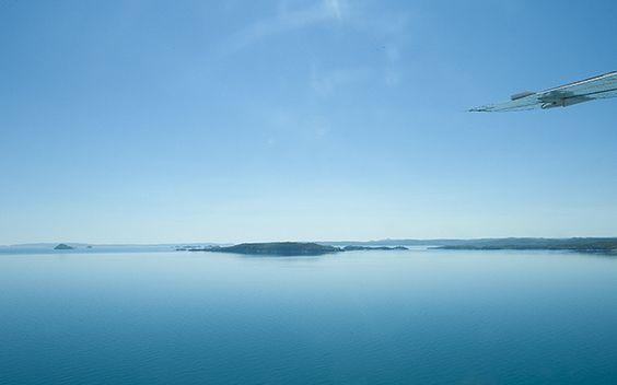Unglaublich eindrucksvoll: eine Flugsafari zum Buccaneer-Archipel.