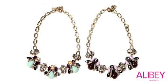 Collares de moscas http://alibeyaccesorios.com/collares-cristales/