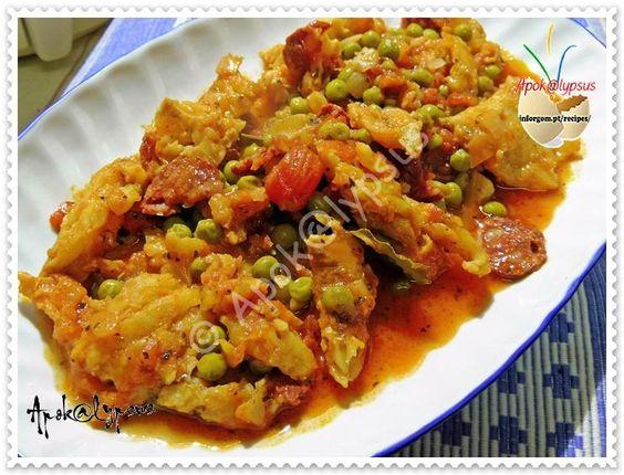 Tomatada de Bacalhau com Ervilhas – Recipes by Apok@lypsus