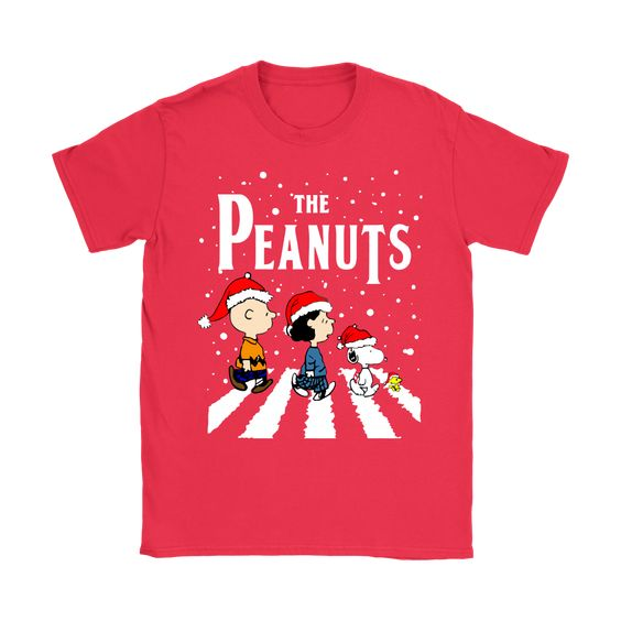 The Peanuts Abbey Road Christmas Snoopy Shirts