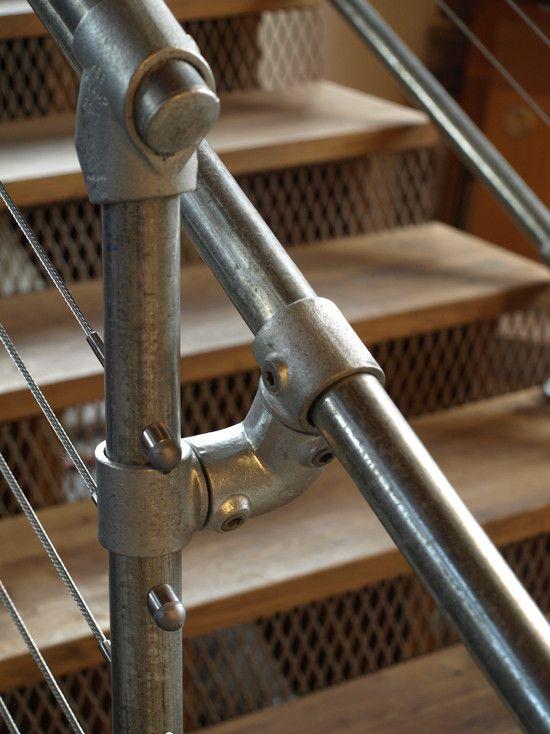 Best Loft Stairs Stair Design And Industrial Loft On Pinterest 400 x 300