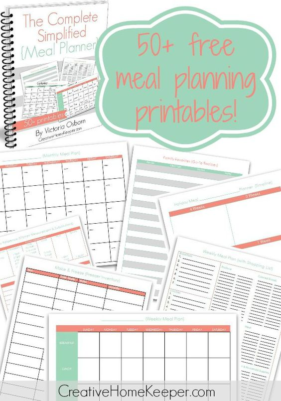 Ready to be more intentional and organized when it comes to meal planning? Introducing The Complete Simplified Meal Planner, a 50+ page downloadable workbook loaded with printables to help you plan meals including monthly and weekly calendars, shopping lists, recipe organizers, holiday planning and so much more!  Best of all... it's completely FREE!!!!!