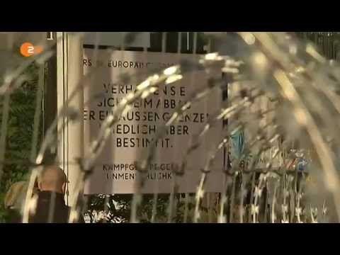 Erster Europäischer Mauerfall: Große Verabschiedung - YouTube
