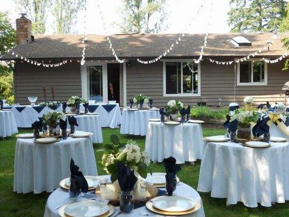 Inexpensive Outdoor Wedding Filed In Cheap Outdoor Wedding - Cheap backyard wedding ideas