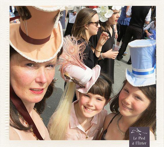Prix de Diane Longines 2013 - Hats by Le Pied à L'Étrier, via Flickr