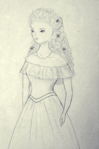 Sketch girl Sissy