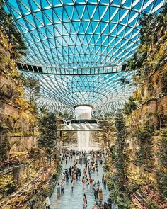 """Jewel"" at Changi airport opens to the general public on April 17th and is most definitely Singapore's newest architectural wonder! It's 40…"