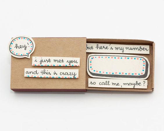 cute romantic anniversary love card matchbox gift box door shop3xu diy gifts pinterest. Black Bedroom Furniture Sets. Home Design Ideas
