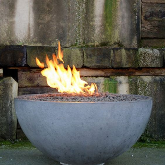how to make a concrete fire pit bowl build your own