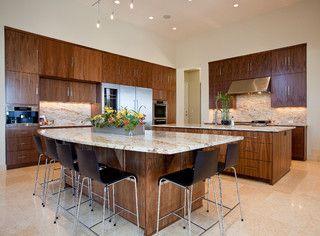 Barton Creek Residence - contemporary - kitchen - austin - by Cornerstone Architects