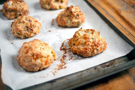 Savoury Cheddar Biscuits #spreadyourflavour