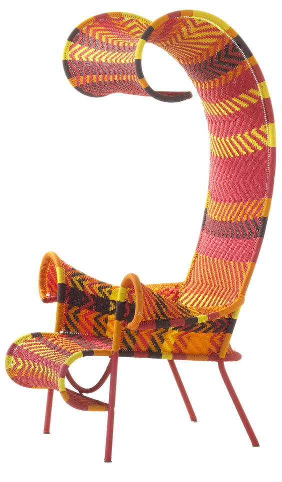 Shadowy outdoor armchair by Tord Boontje for Moroso.