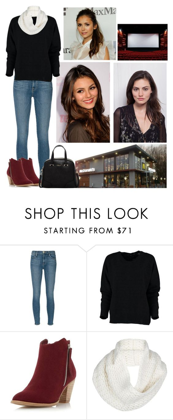 """6 May 2014"" by thexduchess ❤ liked on Polyvore featuring Frame Denim, Dorothy Perkins, UGG Australia and Furla"