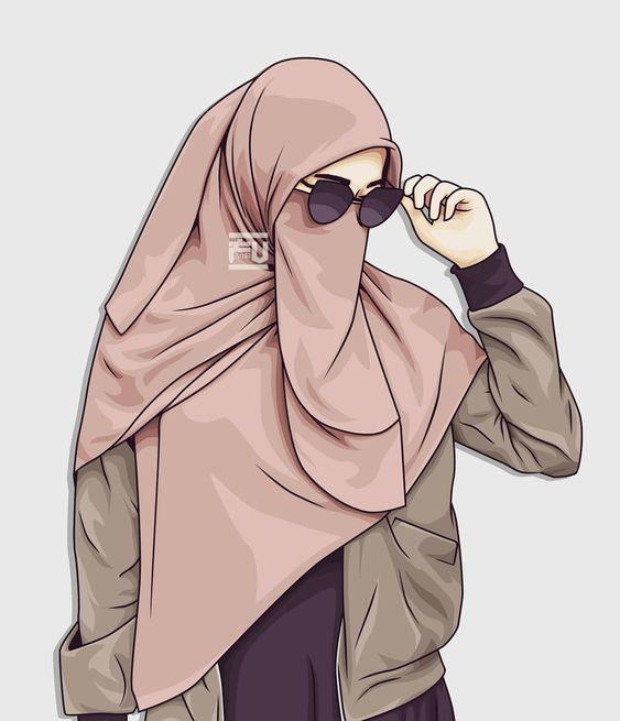 20 Gambar Kartun Muslimah Berhijab Lucu Terbaru Server Gambar Di 2020 Gambar Animasi Kartun