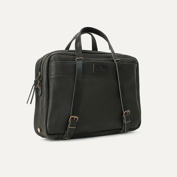 Computer bag business - Report black | Bleu de chauffe