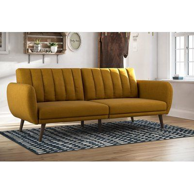 Novogratz Brittany Full 81 5 Split Back Convertible Sofa Furniture Futon Sofa Sofa