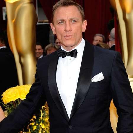 Daniel Craig auf einer Preisverleihung in Tom Ford.