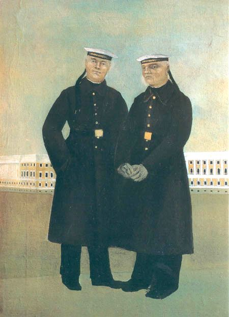 "Boris Ermolaev (1903 - 1983). ""Red Navy Men"""