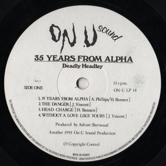 Deadly Headley - 35 Years From Alpha (Label)