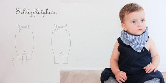 Schlupflatzhose | UNTEN RUM | petit-cochon