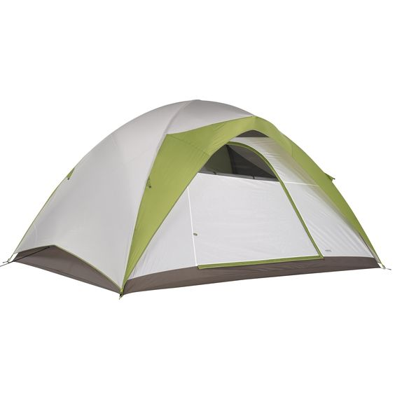 Kelty Yellowstone 8 Tent. Packaged Weight: 17 lb 1 oz. Easy to set up. Continuous pole sleeve. Freestanding. Fully Seam taped construction.