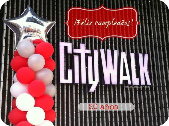Universal CityWalk cumple 20 años #5Towers ~ Estilo Familiar #universalstudios @Rachelle Hernandez