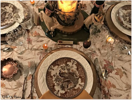 Birds of a Feather Gather Together Table