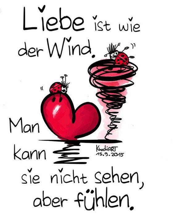 ....❤️ Liebe ist… wie der Wind. Man kann sie nicht sehen, aber fühlen.....❤❤❗
