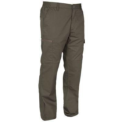 CHASSE Chasse Vêtements - Pantalon Steppe 300 vert SOLOGNAC - Les hauts GREEN_GREY