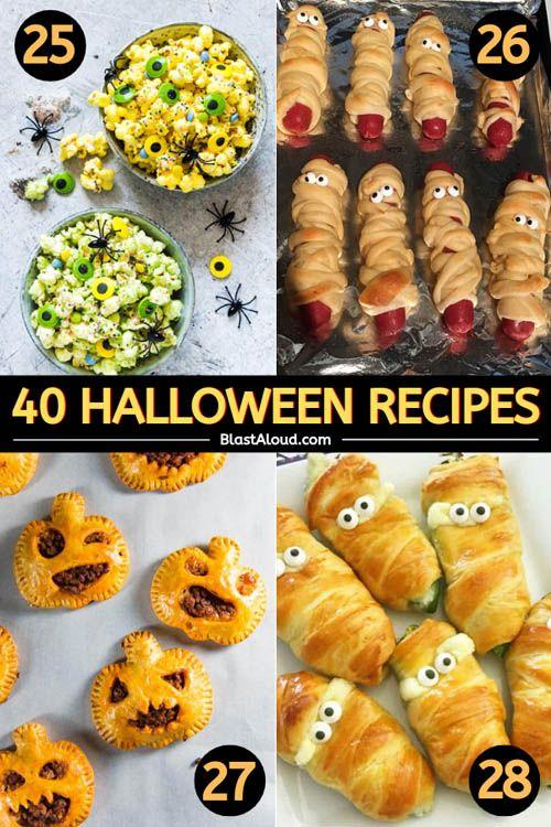 40 Family Friendly Halloween Recipes: Fun Holiday Recipes