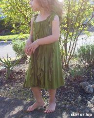 Tutorial: Little girl's Jungle Ruffle Dress