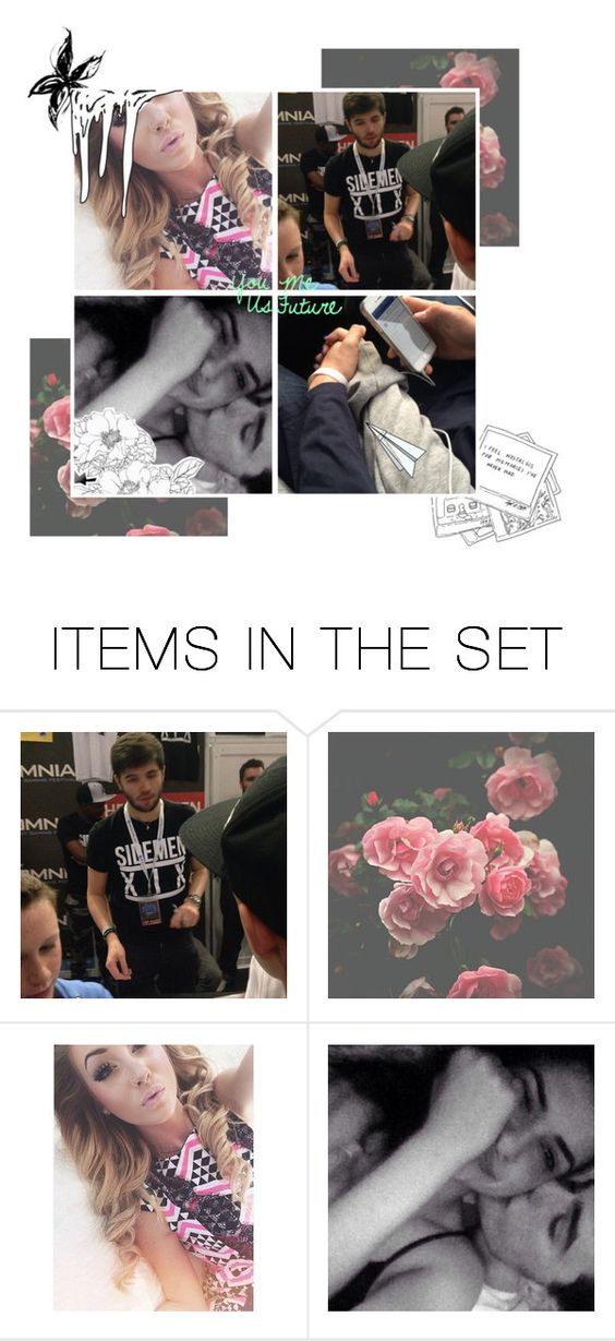 """""""Y.M.U.F - Josh / Zerkaa"""" by thatemo-anons ❤ liked on Polyvore featuring art"""