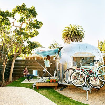 Santa Barbara Auto Camp. Each comes with two beach cruisers for touring the coast like a local. From $139; sbautocamp.com