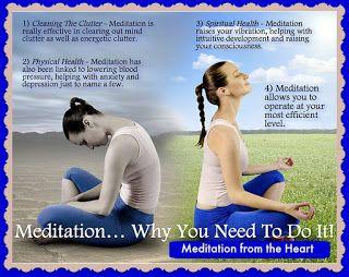 Meditation from the Heart: Work Hard, Play Hard
