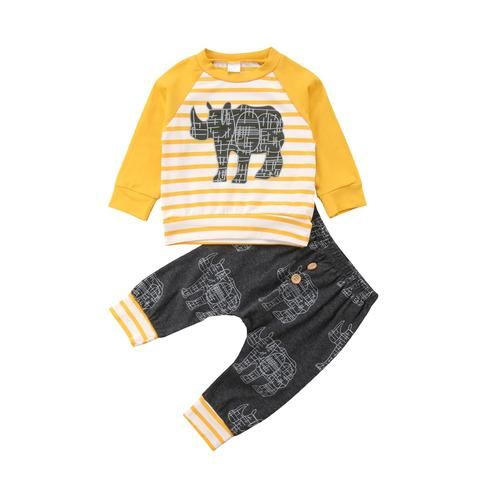 Toddler Baby/'s Girl/'s 3PCs Deer Tops Shirt Antlers Dress Kids Outfits Clothes