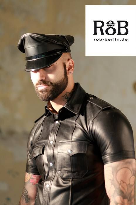 Leather cops gay porn xxx hot police photos 9