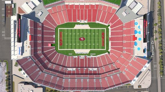 The Most Brilliant As Well As Attractive 49ers Seating Chart Seating Charts Seating 49ers
