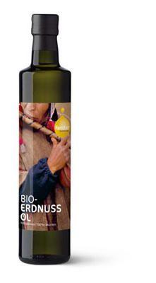 Kaltgepreßtes Erdnussöl in BIO-Qualität von Fandler kaufen