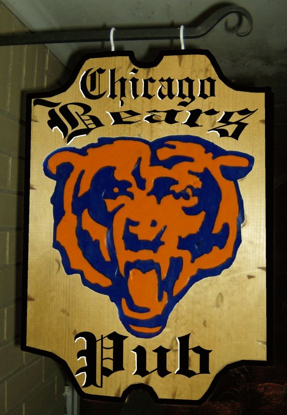 Chicago Bears Man Cave Signs : Chicago bears tickets cheap bear