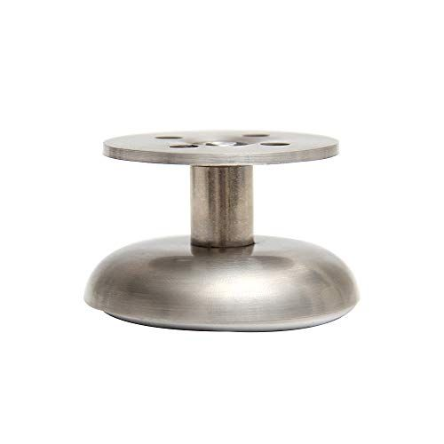 Lei Furniture Feet Stainless Steel Adjustable Height Cabinet Feet Sofa Coffee Table Support Leg 4 Pcs With Mounting S Furniture Feet Stainless Furniture Legs