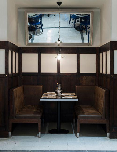 Restaurant Quijote, en Santiago, diseñador Cristian Pizarro